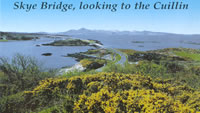 Syke Bridge, looking to the Cuillin