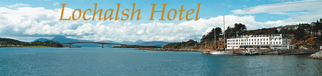 The Lochalsh Hotel, Kyle of Lochalsh, Scottish Highlands